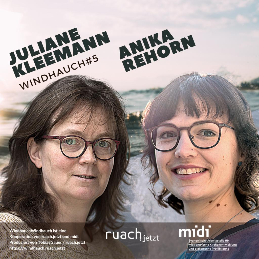 005 Juliane Kleemann (midi) & Anika Rehorn (Pfarrerin)