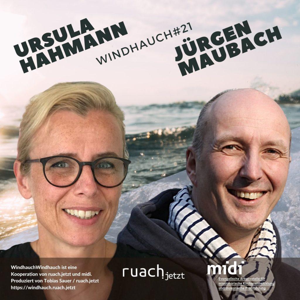 021 Wie entstehen Gemeinden? mit Ursula Hahmann (Zeitfenster) und Jürgen Maubach (Zeitfenster)